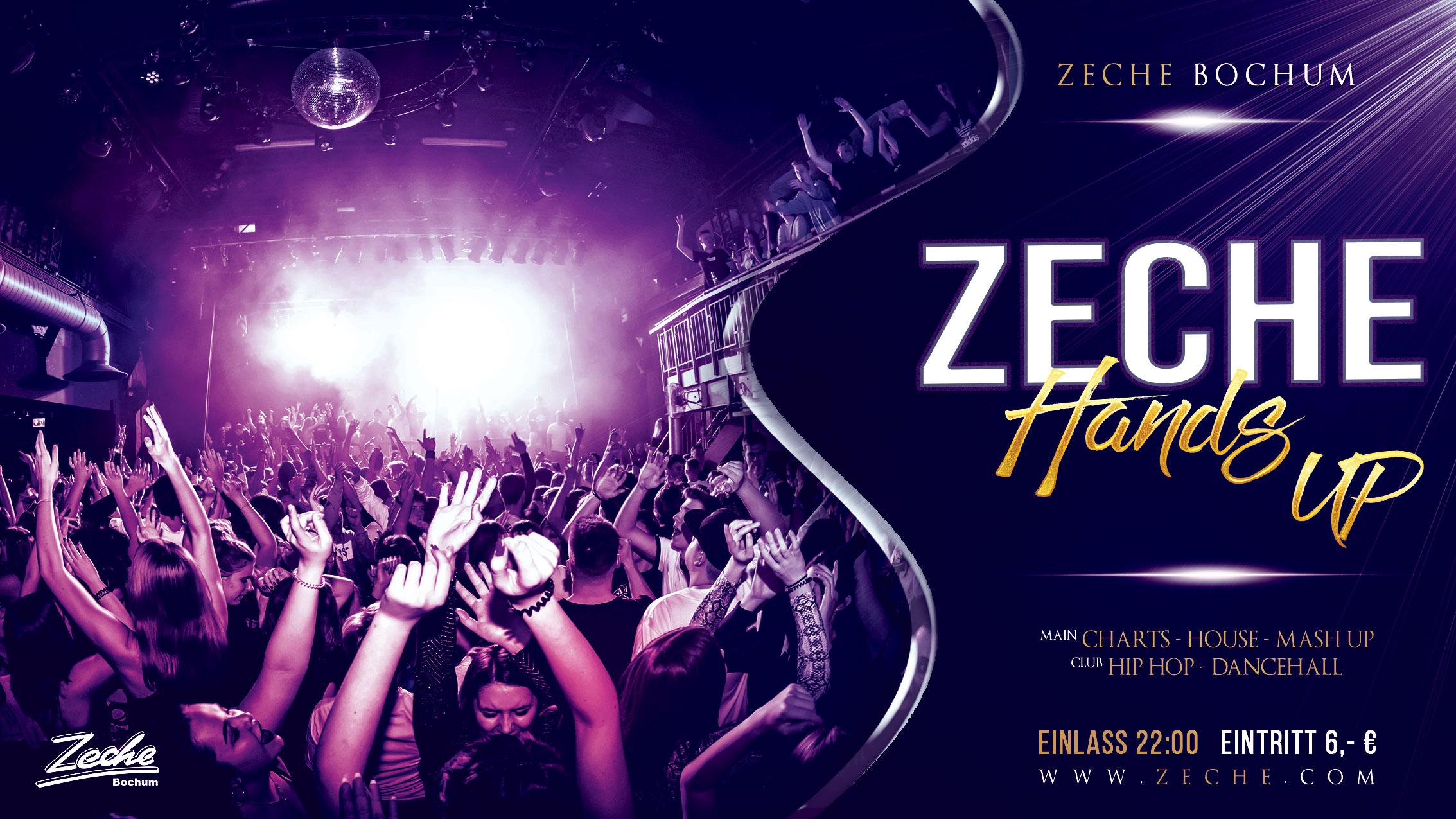 ZECHE HANDS UP