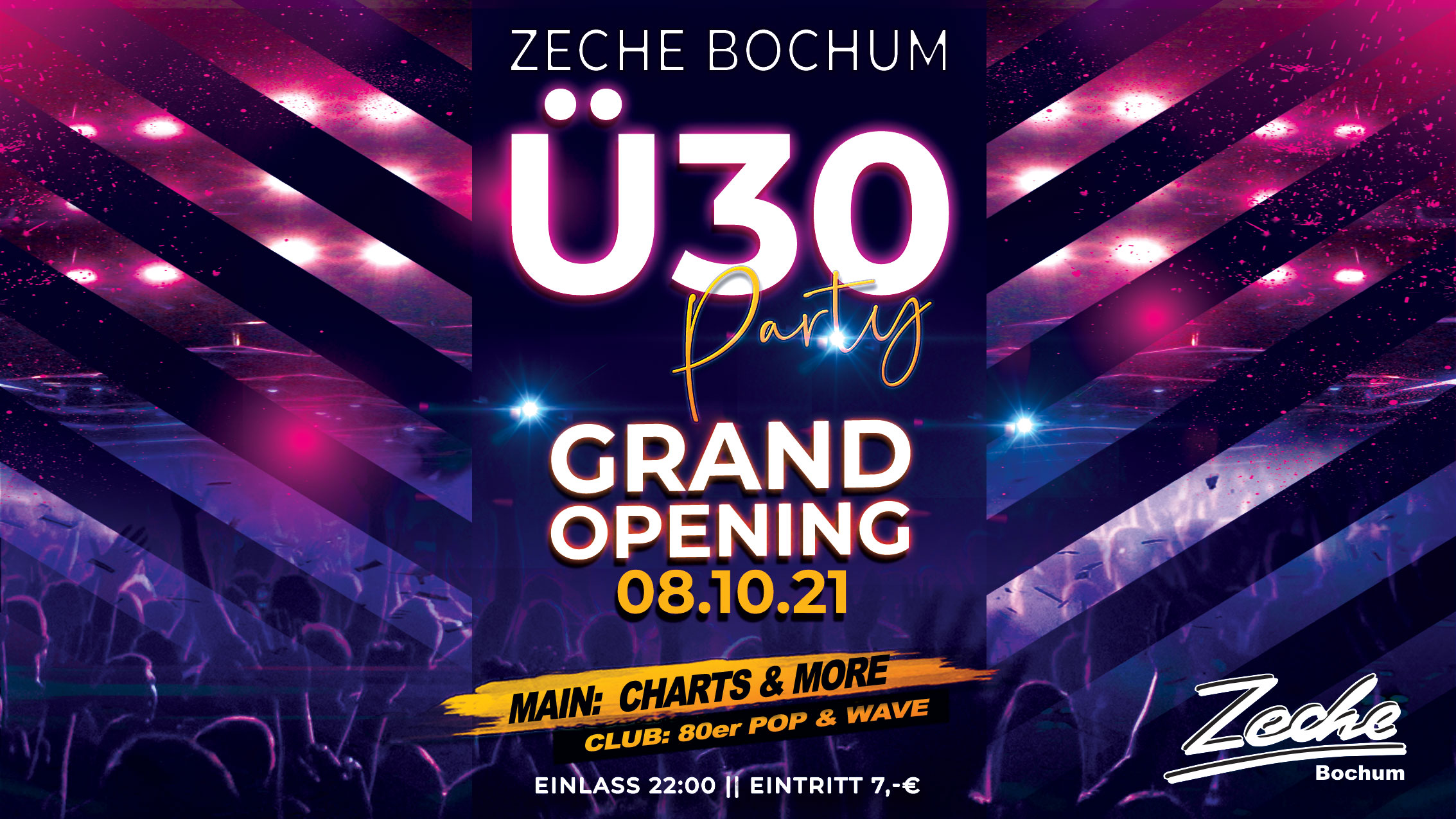 GRAND OPENING - Ü30 PARTY